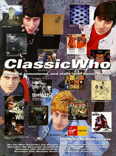 The Who - Classic Who - 2000 UK