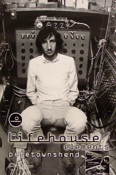 Pete Townshend - Lifehouse Elements - 2000 USA (Promo)