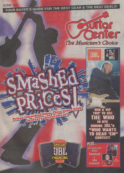 The Who - USA - Guitar Center - June, 2002