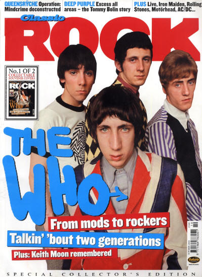 The Who - UK - Classic Rock - October, 2003