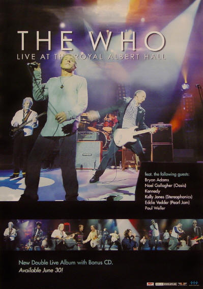 The Who - Live At The Royal Albert Hall - 2003 USA (Promo)