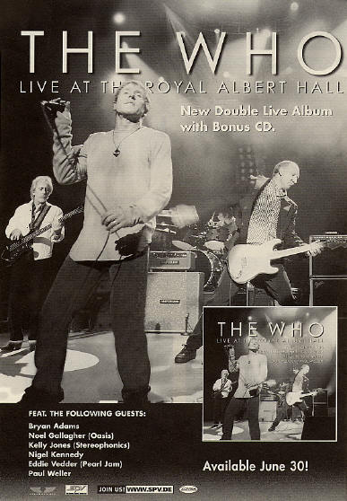 The Who - Live At The Royal Albert Hall - 2003 Holland