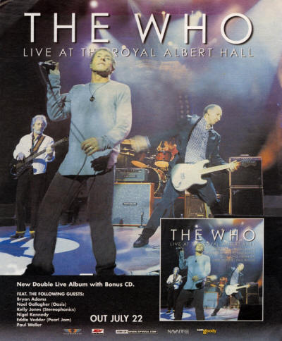 The Who - Live At The Royal Albert Hall - 2003 USA