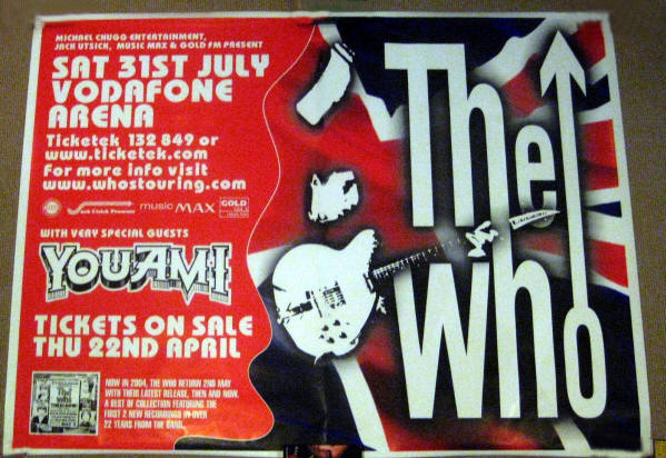 The Who - July 31, 2004 Vodafone Arena - Australia (Promo)