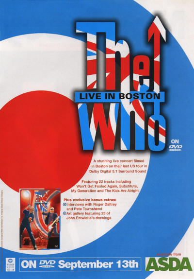 The Who - Live In Boston - 2004 UK