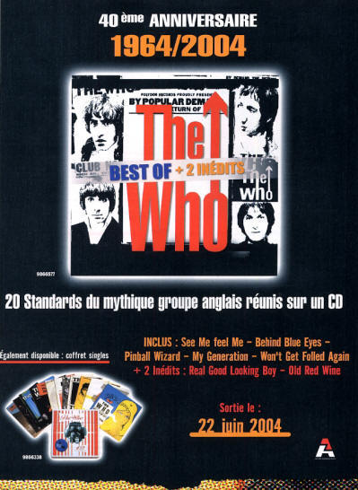 The Who - Then And Now - 2004 France