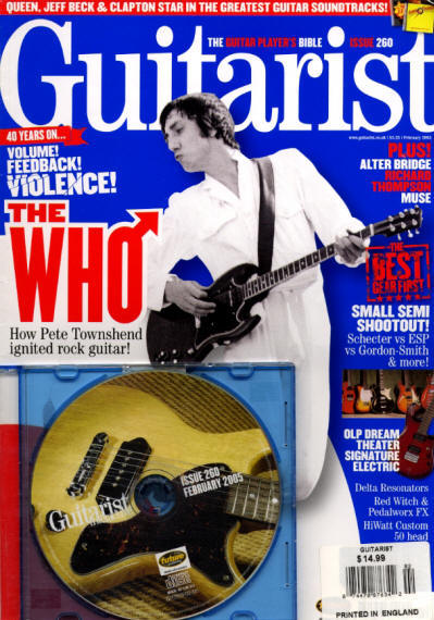 Pete Townshend - UK - Guitarist - February, 2005