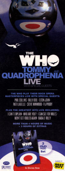The Who - Tommy And Quadrophenia Live - 2005 USA