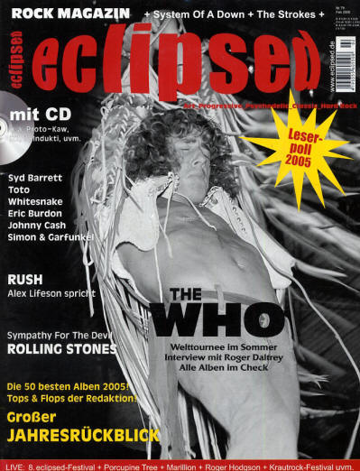 The Who - Germany - Eclipsed - February, 2006
