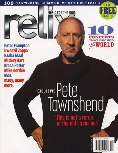 Pete Townshend - USA - Relix - June, 2006