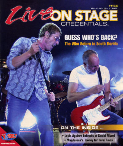 The Who - USA - Live On Stage - November, 2006