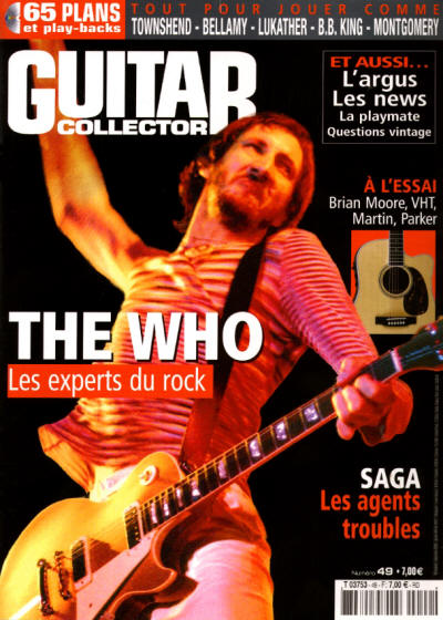 Pete Townshend - France - Guitar Collector - December, 2006