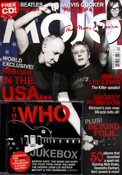 The Who - UK - MOJO - December, 2006 (with CD)