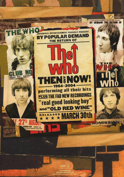 The Who - Then And Now - 2006 UK (CD released in 2004)