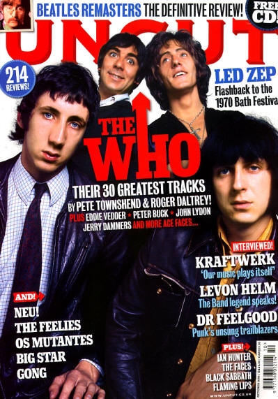 The Who - UK - Uncut - October, 2009