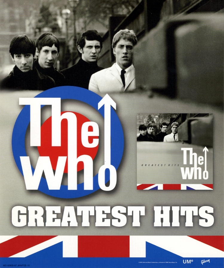The Who - The Who's Greatest Hits - 2009 USA
