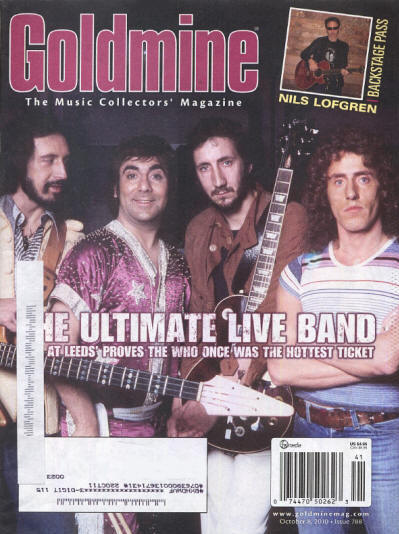 The Who - USA - Goldmine - October, 2010