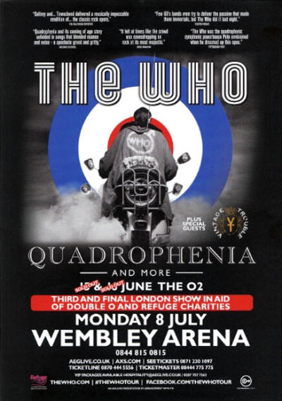 The Who - Quadrophenia & More - July 8, 2013 UK
