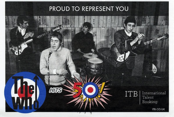 The Who - International Talent Booking - 2014 UK