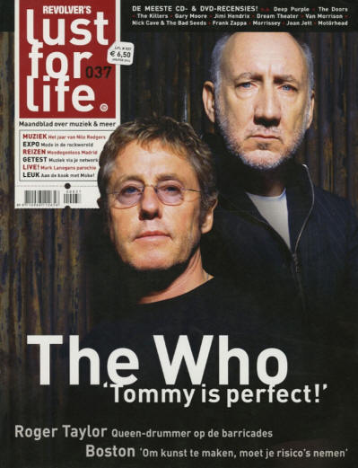 The Who - Holland - Lust For Life - January/February, 2014