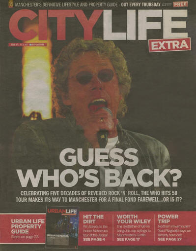 The Who - UK - City Life - December 11, 2014