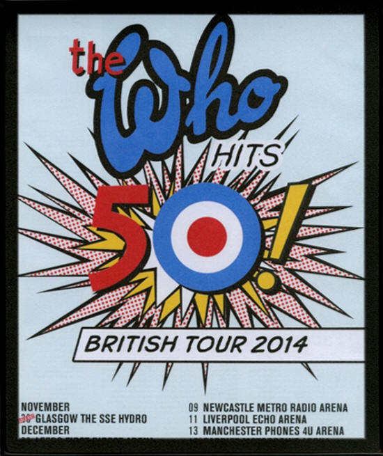 The Who - 2015 UK Mouse Pad