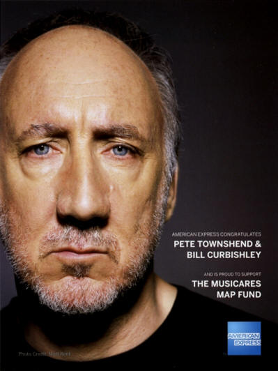 Pete Townshend - AMEX / Music Cares - May 28, 2015 USA