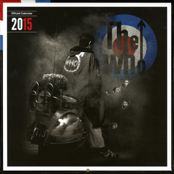 The Who - 2015 UK - Calendar