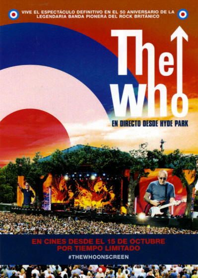 The Who - Live In Hyde Park - 2015 Spain