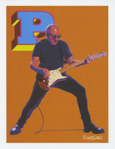 The Who - 2017 USA Lithograph Set