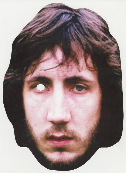 Pete Townshend Mask