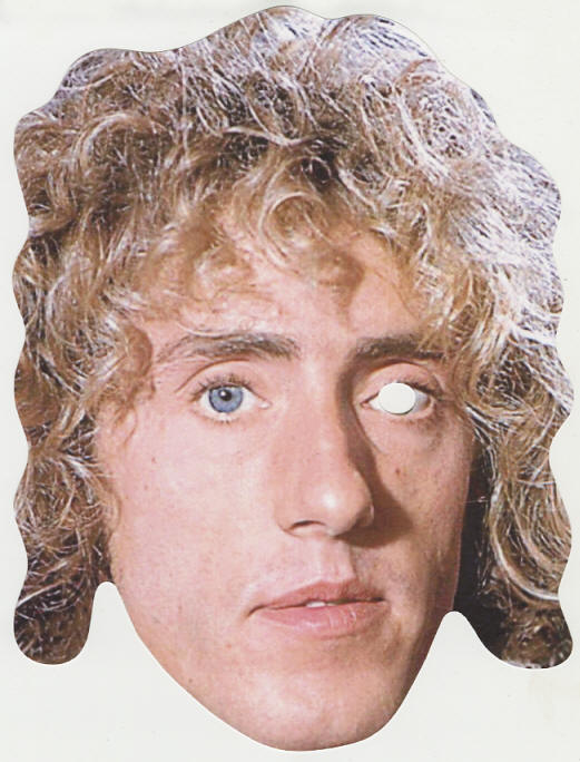 Roger Daltrey - 2018 UK Mask