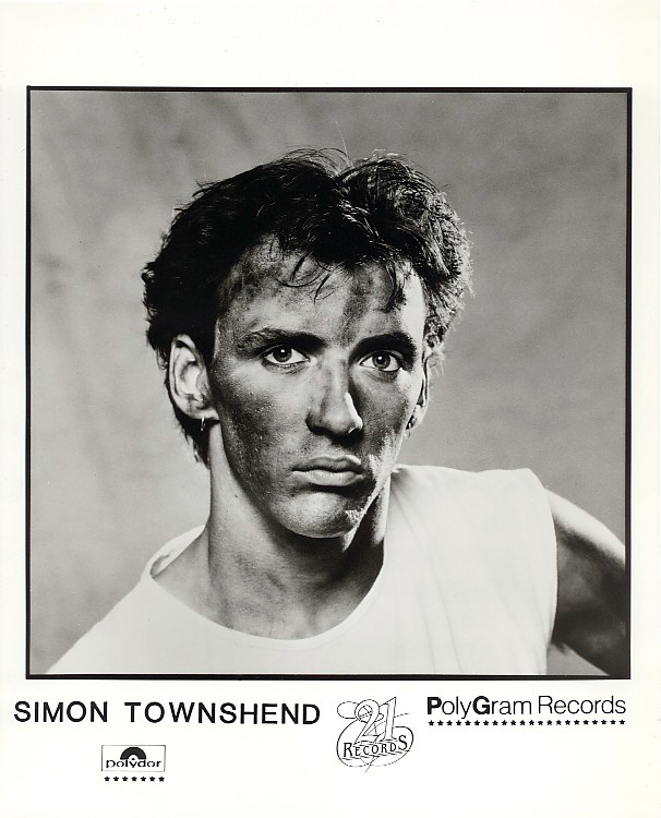 Simon Townshend - 1983 Press Photo