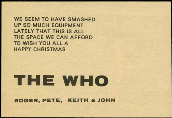 The Who -Happy Christmas - 1965 UK