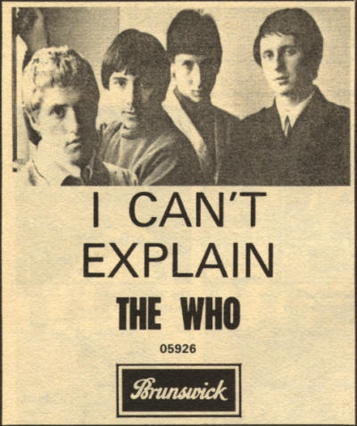 The Who - I Can't Explain - 1965 UK