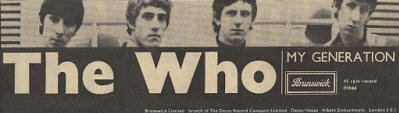 The Who - My Generation - 1965 UK