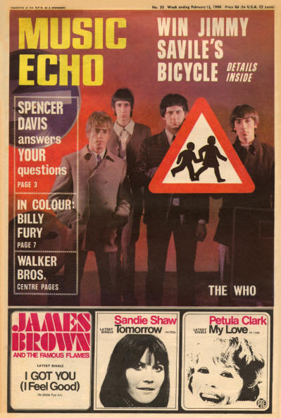 The Who - UK - Music Echo - February 12, 1966