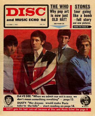 The Who - UK - Disc and Music Echo - October 1, 1966