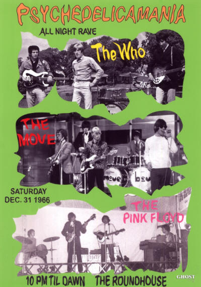 The Who - The Roundhouse - December 31, 1966 UK (Reproduction)