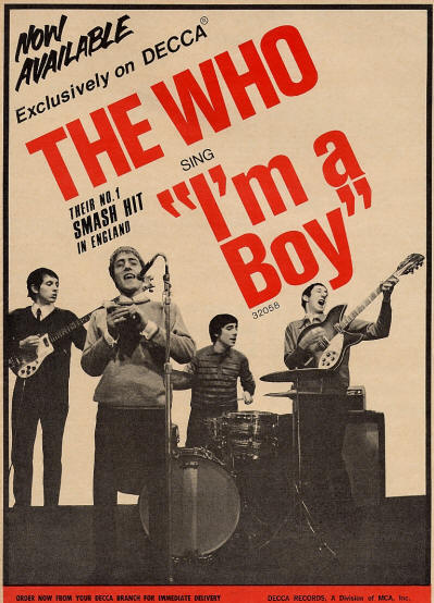 The Who - I'm A Boy - 1966 USA