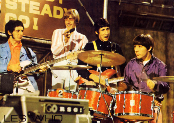 The Who - Ready Steady Go - 1966 (issued in France 1990)