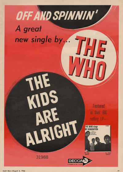 The Who - The Kids Are Alright - 1966 USA