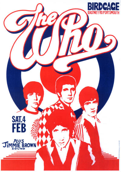 The Who - The Birdcage, Portsmouth, UK - February 4, 1967 (Reproduction)