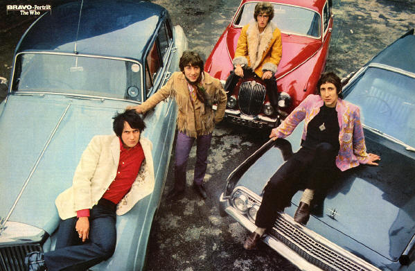 The Who - Circa 1967 Germany