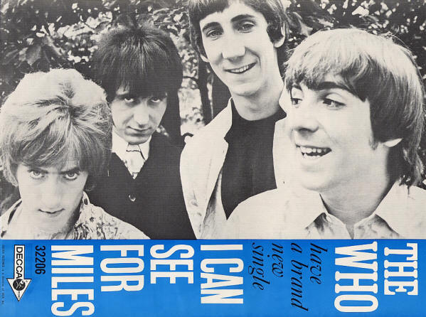 The Who - I Can See For Miles - 1967 USA