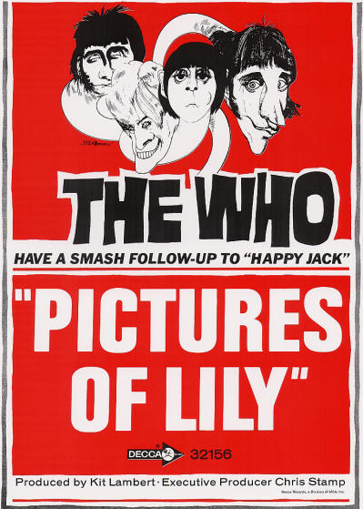The Who - Pictures Of Lily - 1967 USA