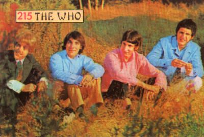 The Who - Postcard - 1967 Italy