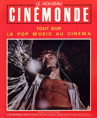Roger Daltrey - France - Cinemonde - June 30, 1970
