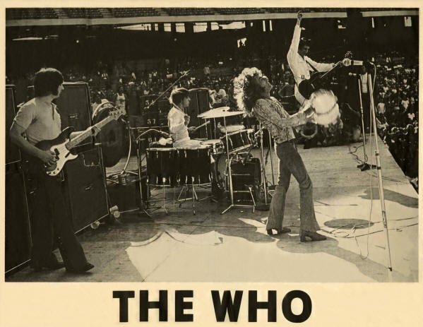 The Who - 1970 USA