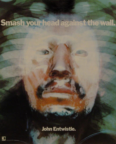 John Entwistle - Smash Your Head Against The Wall - 1971 USA (Promo)